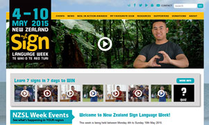 NZ Sign Language Week